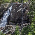 Eagle Falls - the only year round waterfall flowing into Lake Tahoe. - Emerald Bay State Park