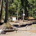 The Five Lakes Trailhead.- Five Lakes Trail