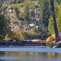 Lake four.- Five Lakes Trail