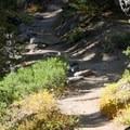 Five Lakes Trail, Granite Chief Wilderness.- Five Lakes Trail