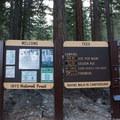 Whitney Ravine Walk-in Campground.- Whitney Ravine Walk-in Campground