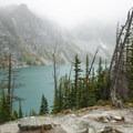 Colchuck Lake Basin.- Enchantment Lakes Hike via Colchuck Lake
