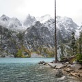 Colchuck Lake.- Enchantment Lakes Hike via Colchuck Lake