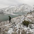 Isolation Lake in the Enchantment Lakes Basin.- Enchantment Lakes Hike via Colchuck Lake