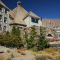 Historic Timberline Lodge.- Mount Hood Wilderness