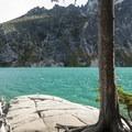Colchuck Lake.- Colchuck Lake Trail