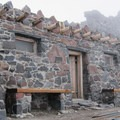 Camp Muir sleeping hut.- Camp Muir Hike