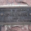 John Muir dedication.- Camp Muir Hike