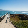 Great panoramic views from Pigeon Point.- Pigeon Point Lighthouse + Hostel