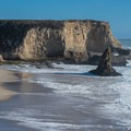 Incredible views from Davenport Beach.- Davenport Beach