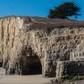Eroded tunnel- Davenport Beach