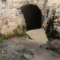 Tunnels at Davenport Beach.- Davenport Beach