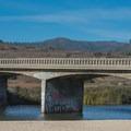 Bridge over Scott Creek Beach.- Scott Creek Beach