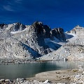 Isolation Lake with Dragontail Peak overhead.- Enchantment Lakes Thru-Hike