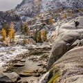 Lower Enchantments area.- Enchantment Lakes Thru-Hike