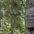 The Henry M Jackson Wilderness begins 2 miles into the hike.- Heather Lake Trail