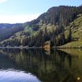 Heather Lake.- Heather Lake Trail