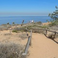 The spur off of Razor Point Trail.- Torrey Pines State Natural Reserve