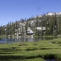 Off-trail hikers can explore the headwaters of Rock Creek to Confusion Lake (shown here) and beyond.- Middle Fork of the Boise River, Rock Creek Canyon and Timpa Lake