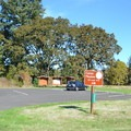 One of many parking areas in Elijah Bristow State Park.- Elijah Bristow State Park