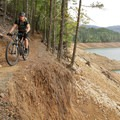 There are a few short sections with major exposure.- Applegate Lake Loop