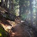 Blue Lake Trail.- Blue Lake Hike