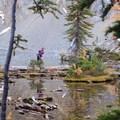Blue Lake.- Blue Lake Hike