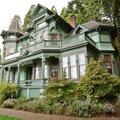 The Shelton-McMurphy-Johnson house is one of Eugene's historic landmarks.- Skinner Butte Park