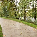 The Ruth Bascom Riverbank Trail runs along the north side of Spencer Butte Park.- Skinner Butte Park