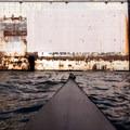 Looking at the sidewall of a large drydock on Harbor Island.- Elliott Bay Sea Kayaking