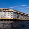 The historic Edgewater Hotel.- Elliott Bay Sea Kayaking