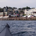 The 23rd annual Seattle Hempfest attracts over 300,000 visitors each year.- Elliott Bay Sea Kayaking