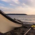 Taking a break at Myrtle Edwards Park.- Elliott Bay Sea Kayaking