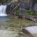Queens River Falls is accessible by a long day hike up Queens River from the Atlanta area.- Atlanta Region