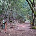 Trailhead for Waterfall Loop.- Waterfall Loop