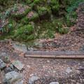 Hiking along the Waterfall Loop.- Waterfall Loop