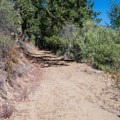 The route becomes steep at times.- Knobcone Point + Black Rock Falls Hike via Contour Trail