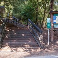 Entrance from the parking lot.- Uvas Canyon County Park
