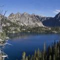 Middle Baron Lake.- Baron Falls + Baron Lakes