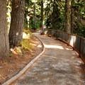 The trail to Washington Pass Overlook.- Washington Pass Overlook