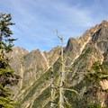 Looking northeast toward Kangaroo Ridge and Silver Star Mountain.- Washington Pass Overlook