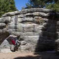 Bouldering at D.L. Bliss State Park.- D.L. Bliss State Park