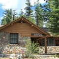 The park visitor center.- D.L. Bliss State Park