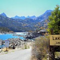 Lake Sabrina boat ramp.- Lake Sabrina Canoe/Kayak