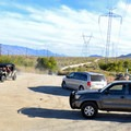 Parking for Keough's Hot Springs Ditch.- Keough's Hot Springs Ditch