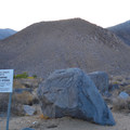 Property of Los Angeles is adjacent to Keough's Hot Springs Ditch.- Keough's Hot Springs Ditch
