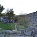 Day use area at Keough's Hot Springs.- Keough Hot Springs