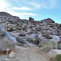 Rock garden at Keough's Hot Springs.- Keough Hot Springs