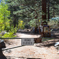 Big Pine Creek day use trailhead.- Big Pine Creek Campground