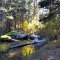 Big Pine Creek.- Big Pine Creek North Fork Hiking Trail, First and Second Lake